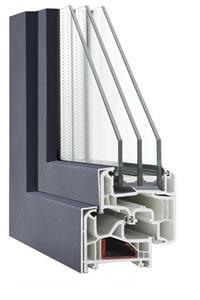 Alumínium borítású műanyag ablakok