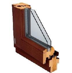 Felületkezelt fa ablakok